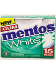 Mentos Gum White Supermint Flip Box 22g