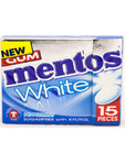 Mentos Gum White Peppermint Flip Box 22g