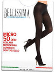 Bell Micro 50den Tights 1/2 Black