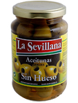 Le Sevillana Pitted Green Olives 370ml
