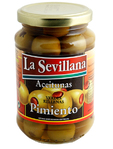 La Sevillana Green Olives Stuffed Pimiento 200gr