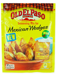 Old El Paso Mexican Wedges Seasoning Mix 30g