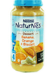 Nestle Naturnes Dessert Banana Orange & Biscuit 250gr