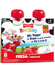 Pascual Yogikids Pouch Strawberry Banana 2x80g Offer Only €1.50