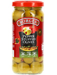 Borges Pepper Stuffed Olives 220gr