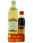 Borges Extra Light Olive Oil 750ml + Balsamin 250ml Free