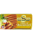 Fillets Of Anchovies In Sunflower Oil 45g