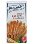 Realmar Fillets Of Anchovies 50gr