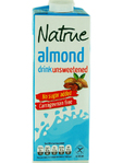 Natrue Almond Drink Unsweetened 1lt