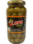 Lora Pitted Green Olives 880g