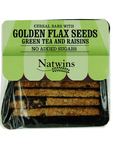 Natwins Golden Flax Seeds Green Tea & Raisins 80gr
