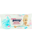 Pozzy Mega Baby Wet Wipes Pink
