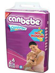 Canbebe Nappies Maxi Size 4 X45
