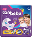 Canbebe Nappies Junior X40
