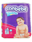 Canbebe Nappies E/large X28