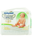 Ultra Compact Angels Diapers Maxi X36