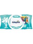 Ultra Compact Baby Wet Wipes X100