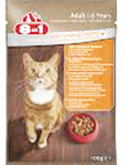 8in1 Cat Pouch Chicken 100g