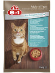 8in1 Cat Pouch Tuna 100g
