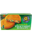 Eurofreez Vegetable Burgers 450g