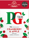 Pg Tips Cranberry & Apple Tea X25