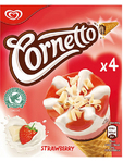 Wall's Cornetto Strawberry X4