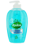 Radox Pump H/wash Replenished 250ml
