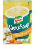 Knorr Quick Soup Chicken & Vegetable 56gr