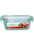 Lock & Lock Glass Container Rectangular 1.13lt