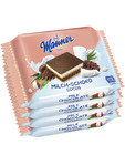 Manner Snack Milk Chocolate & Coconut 4x25g