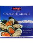 Green Half Shelf Mussel 1kg