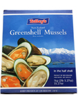 Green Half Shell Mussels 1kg