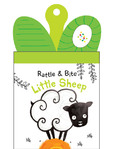 Rattle & Teether Book - Little Sheep